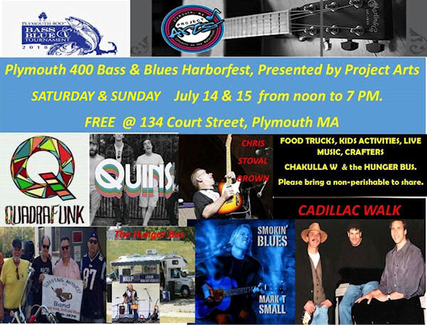 Plymouth 400 Bass & Blues Harborfest